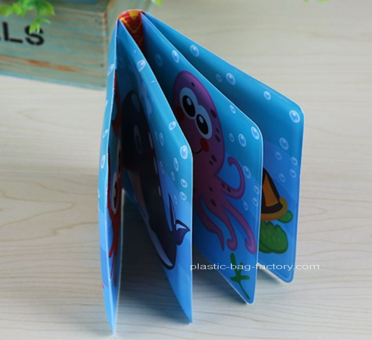 Marine Life Reading Toy Books Soft Infant Bath Books Early Learning Bath Toy Books