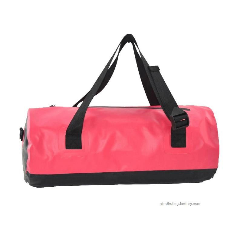 Roll Top Duffel Red, 45L